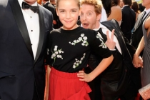 Matthew Weiner, Kiernan Shipka and Seth Green attend the Academy of Television Arts and Sciences 2011 Primetime Creative Arts E