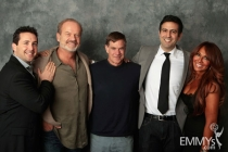 Brian Sher, Kelsey Grammer, Gus Van Sant, Farhad Safinia and Stella Bulichnikov at An Evening With Boss