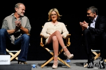 Kelsey Grammer, Kathleen Robertson and Jeff Hephner at An Evening With Boss