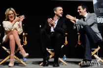 Kathleen Robertson, Jeff Hephner with Farhad Safinia at An Evening With Boss