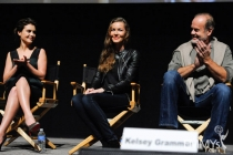 Hannah Ware, Connie Nielsen and Kelsey Grammer at An Evening With Boss