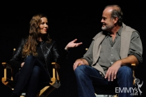 Connie Nielsen and Kelsey Grammer at An Evening With Boss