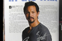 Benjamin Bratt--Emmy Mag Issue for Charity
