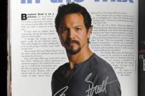 Benjamin Bratt--Emmy Mag Issue for Charity