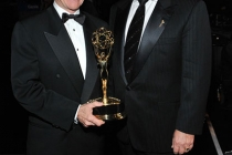 (L-R) John Walsh and John Shaffner at the Academy of Television Arts and Sciences 2011 Primetime Creative Arts Emmys