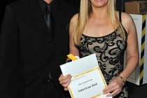 """Emmy award winning team from """"American Idol"""" backstage"""