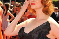 Christina Hendricks at the 62nd Primetime Creative Arts Emmy Awards