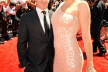 Seth Green and Clare Grant at the 62nd Primetime Creative Arts Emmy Awards