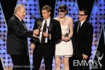 "Don Mischer with the winners of Best Creative Achievement in Interactive for ""The Jimmy Fallon Digital Experience"""