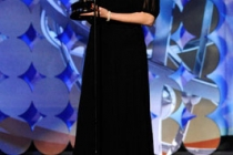 Chu-Hui Song accepts Outstanding Individual Achievement In Animation award for 'Generator Rex' award onstage