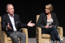 Ken Corday & Arianne Zucker at the 45 Years Of Days Of Our Lives event