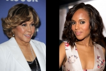 Diahann Carroll and Kerry Washington
