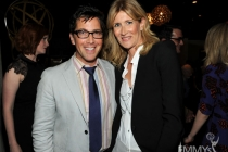 Dan Bucatinsky and Laura Dern at the 2013 Performers Emmy Celebration