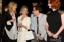 Laura Dern, Jane Fonda, Dan Bucatinsky and Christina Hendricks at the 2013 Performers Emmy Celebration