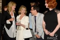 Laura Dern, Jane Fonda, Dan Bucatinsky and Christina Hendricks at the 2013 Performers Emmy Celebration
