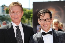 Dan Roos and David Bucatinsky on the Red Carpet at the 65th Creative Arts Emmys