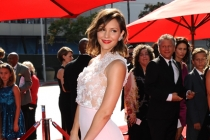 Katharine McPhee on the Red Carpet at the 65th Creative Arts Emmys