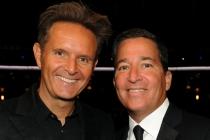 Mark Burnett and Television Academy Chairman/CEO Bruce Rosenblum