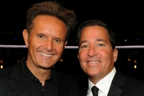 Mark Burnett and Television Academy Chairman/CEO Bruce Rosenblum