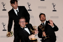 Rob Butler, Josh Earl and Alex Durham at the 65th Creative Arts Emmys