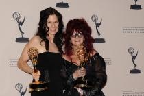 Deborah Lamia Denaver and Deborah Rutherford at the 65th Creative Arts Emmys