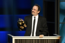 Robert Smigel and Triumph, the Insult Comic Dog at the 65th Creative Arts Emmys