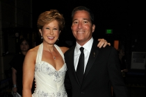 Presenter Yeardley Smith and Chairman/CEO Bruce Rosenblum