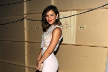 Katharine McPhee backstage at the 65th Creative Arts Emmys