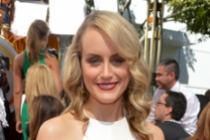 Taylor Schilling on the Red Carpet at the 65th Emmys