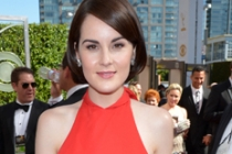 Michelle Dockery on the Red Carpet at the 65th Emmys