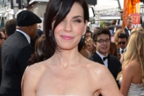 Julianna Margulies on the Red Carpet at the 65th Emmys