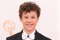 Nolan Gould on the Red Carpet at the 65th Emmys