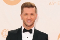 Travis Wall on the Red Carpet at the 65th Emmys