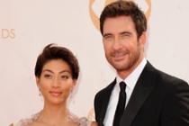 Shasi Wells and Dylan McDermott on the Red Carpet at the 65th Emmys