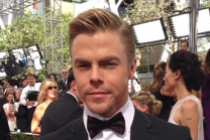 Derek Hough on the Red Carpet at the 65th Emmys