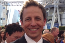 Seth Meyers on the Red Carpet at the 65th Emmys