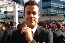 Carson Daly on the Red Carpet at the 65th Emmys