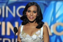 Kerry Washington on stage at the 65th Emmys