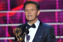 Mark Burnett accepts the award for Outstanding Reality-Competition Program