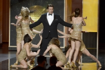 Nathan Fillion performs on stage at the 65th Emmys