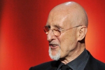 James Cromwell accepts the award for Outstanding Supporting Actor in a Miniseries