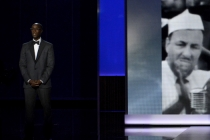 Don Cheadle on stage at the 65th Emmys