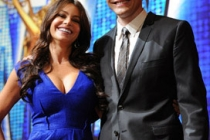 Sofia Vergara and Joel McHale at the Nominations Ceremony 2010