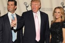 Donald Trump, Jr., Donald Trump & Marlee Matlin at An Evening With Celebrity Apprentice