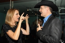 "Marlee Matlin & John Rich at ""An Evening with The Celebrity Apprentice"""