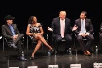 "John Rich, Star Jones, Donald Trump & Donald Trump Jr. at ""An Evening With Celebrity Apprentice"""