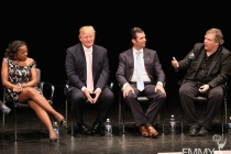 Star Jones, Donald Trump, Donald Trump Jr. & Meat Loaf at An Evening With Celebrity Apprentice
