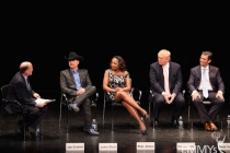 Onstage at An Evening With Celebrity Apprentice