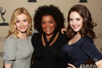 Gillian Jacobs, Yvette Nicole Brown and Alison Brie at An Evening With Community