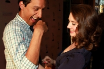 Danny Pudi and Alison Brie at An Evening With Community
